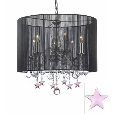 Dove Springs 6-Light Drum Chandelier