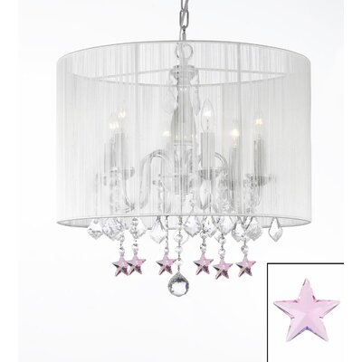 Dovercourt 6-Light Drum Chandelier