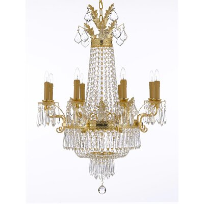 Linsey 12-Light Crystal Chandelier