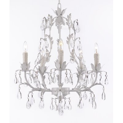 Harrison Lane 5 Light Crystal Chandelier T40-626