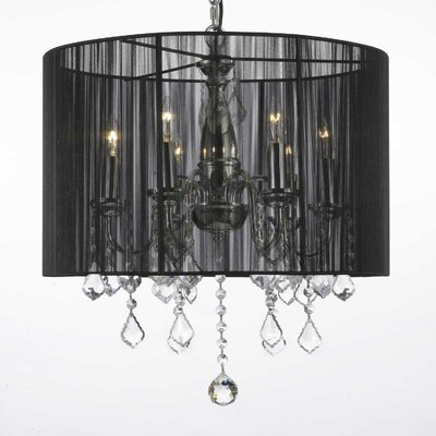 Kedzie 6-Light Drum Chandelier
