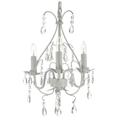 Harrison Lane 3 Light Crystal Chandelier T40-575