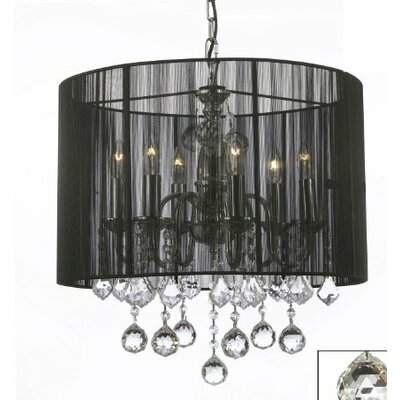Juhasz 6-Light Drum Chandelier