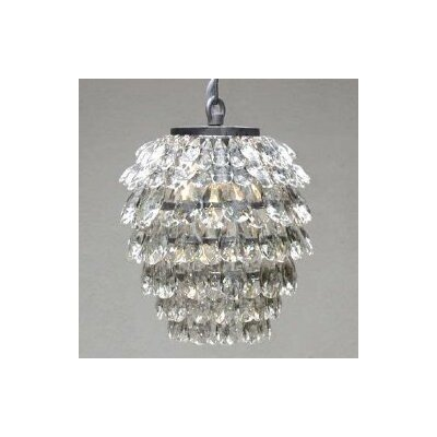 Clemence 1-Light Crystal Pendant