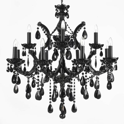 Dacia 12-Light Crystal Chandelier