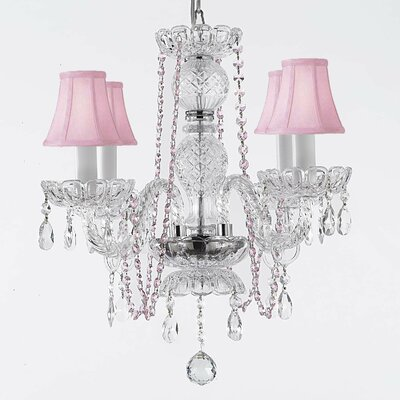 Kater 4-Light Crystal Chandelier