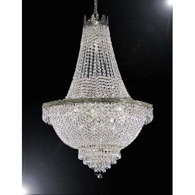 Stewart 14-Light Empire Chandelier