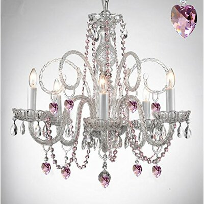 Keeble 5-Light Crystal Chandelier