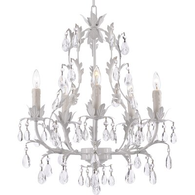 Clemence 5-Light 40W Crystal Chandelier