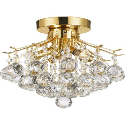 Dockery 4-Light Semi Flush Mount