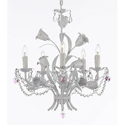 Bowey 5-Light Candle-Style Chandelier
