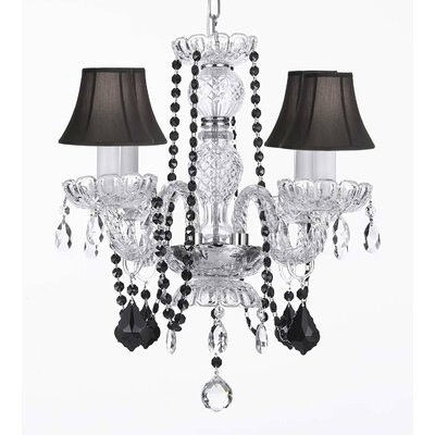 Bowey 4-Light Crystal Chandelier