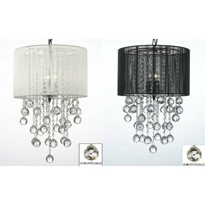 Housel 3-Light Drum Chandelier