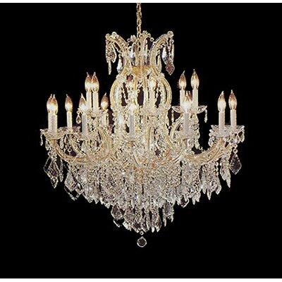Alvarado 16-Light Impress Crystal Chandelier