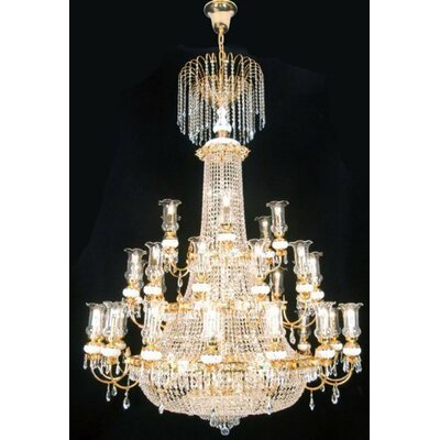 56-Light Crystal Chandelier