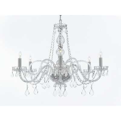 Keeton 6-Light Crystal Chandelier