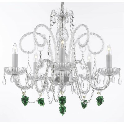 Kellum 5-Light Crystal Chandelier