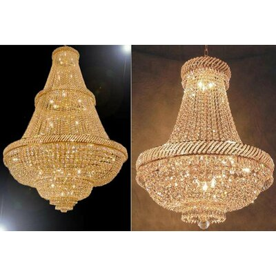 2 Piece Empire Chandelier Set