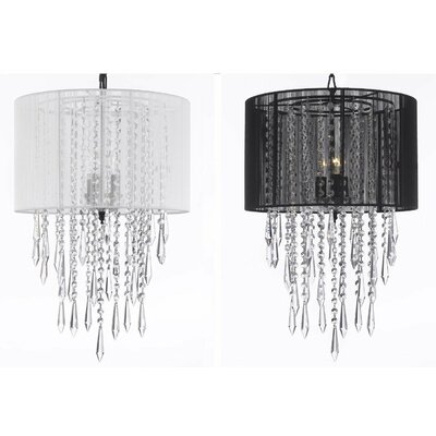 Jepson 3-Light Drum Chandelier