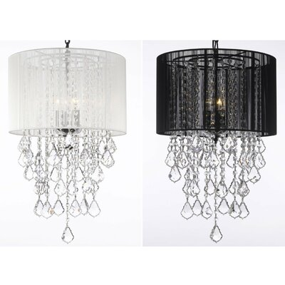 Jerlene 3-Light Drum Chandelier