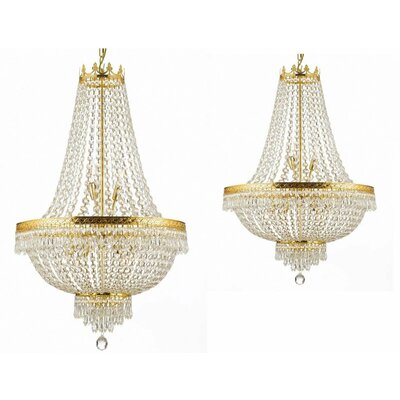 Littleton 2 Piece Empire Chandelier Set