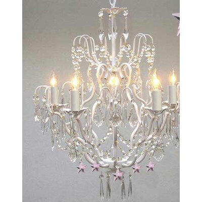Dostie 5-Light Crystal Chandelier