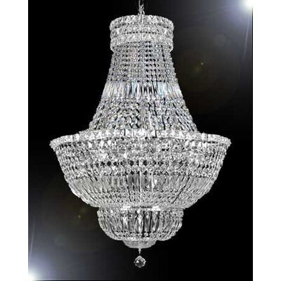 Raymond 14-Light Crystal Chandelier