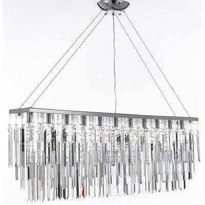 Hovey 11-Light Kitchen Island Pendant