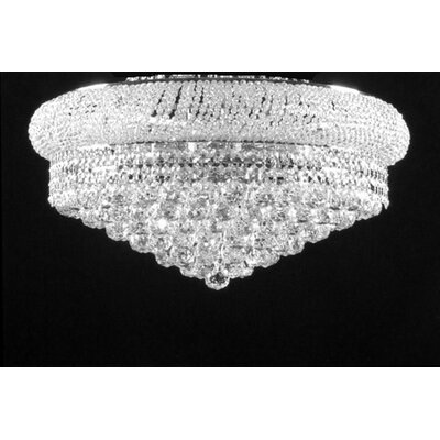 Stewart 9-Light Flush Mount