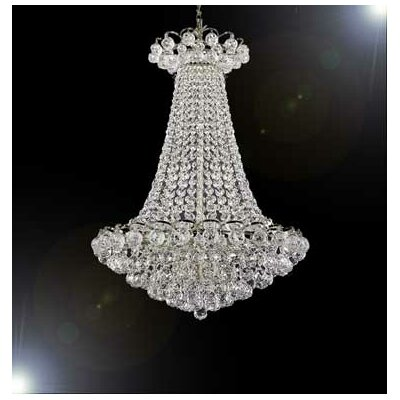 Stewart 9-Light Crystal Chandelier