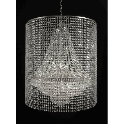 Stewart 12-Light Crystal Chandelier