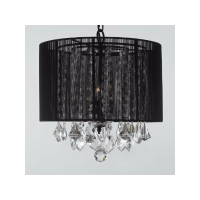 Jessenia 3-Light Drum Chandelier