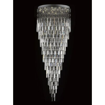 Antoninus 22-Light Crystal Chandelier