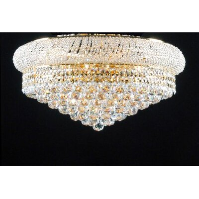 Stewart 12-Light Flush Mount
