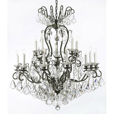 Alvan 16-Light Crystal Chandelier
