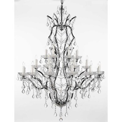 Alvan 25-Light Crystal Chandelier