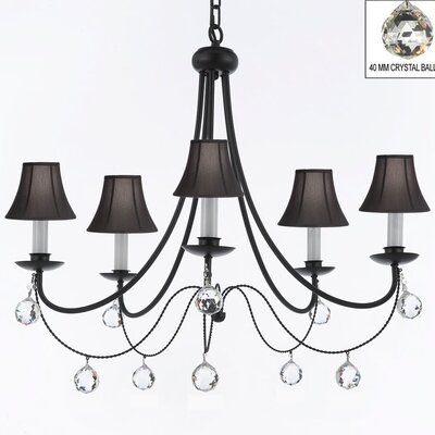 Clemence 5-Light 40W Shaded Chandelier