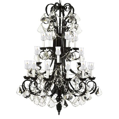 Locher 24-Light Crystal Chandelier