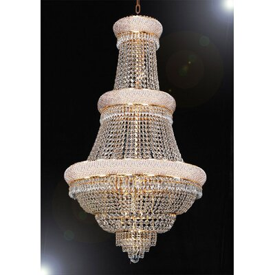 Stewart 21-Light Crystal Chandelier