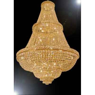 French 48-Light Empire Chandelier