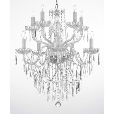 Ketchum 10-Light Crystal Chandelier