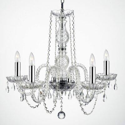 Kieffer 5-Light Crystal Chandelier