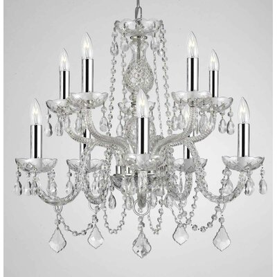 Kiel 10-Light Crystal Chandelier