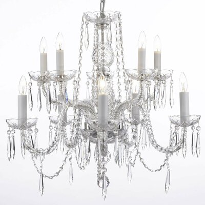 Kenner 10-Light Crystal Chandelier