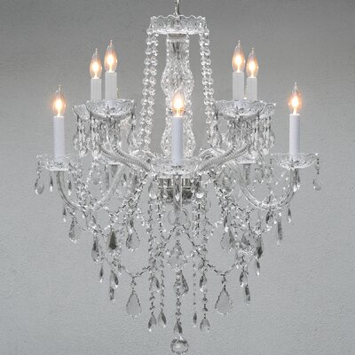 Loden 10-Light Crystal Chandelier