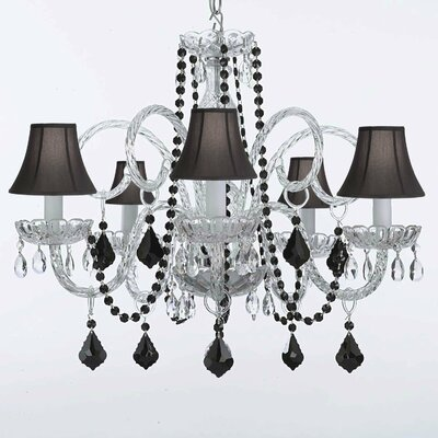 Bowey 6-Light Crystal Chandelier