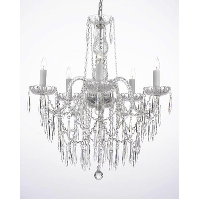 Ketner 5-Light Crystal Chandelier