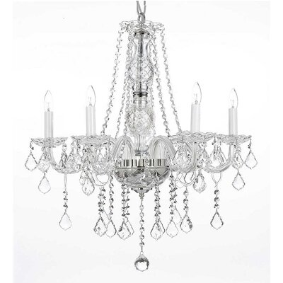 Loewen 5-Light Crystal Chandelier