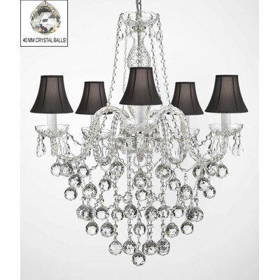 Kilgo 5-Light Crystal Chandelier
