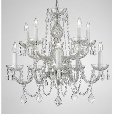 Killough 9-Light Crystal Chandelier